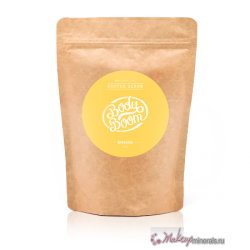 makeupminerals_organic_cosmetics_body_care_scrub_banana_doypack_front