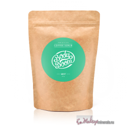 makeupminerals_organic_cosmetics_body_care_scrub_mint_doypack_front